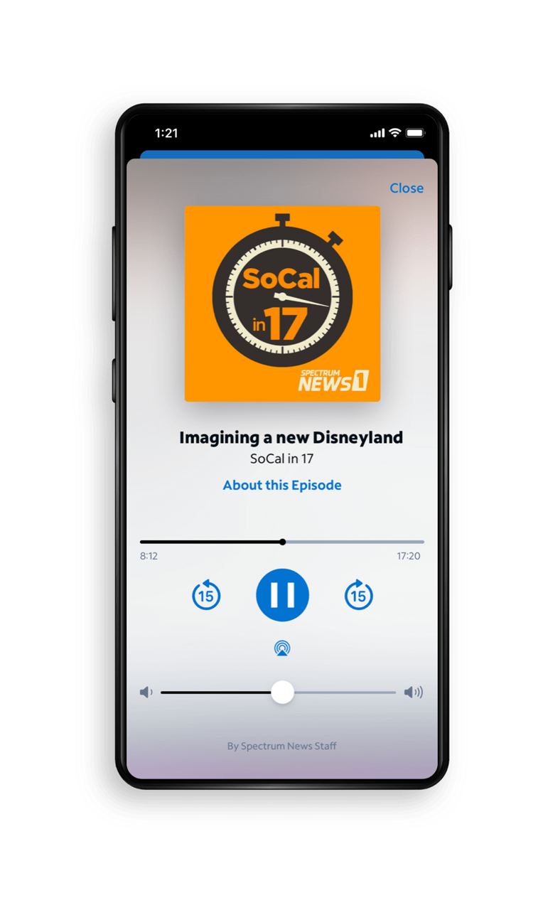 Spectrum News App - Original Podcasts